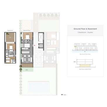 Bay House: Ground Floor Duplex